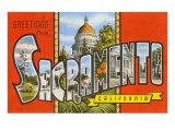 Greetings from Sacramento  California