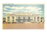 Union Station  Worcester  Mass
