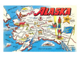 Map of Alaska