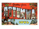 Greetings from Ottumawa  Iowa