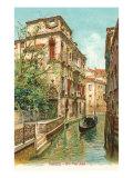 Van Axel Canal  Venice  Italy