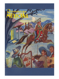 Romanza Mexicana Poster  Village Scene at Night