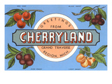 Greetings from Cherryland  Grand Traverse  Michigan