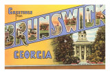 Greetings from Brunswick  Georgia