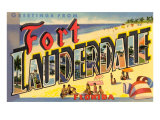 Greetings from Ft Lauderdale  Florida