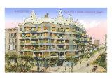 Gaudi's Casa Mila  Barcelona
