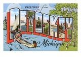 Greetings from Petoskey  Michigan