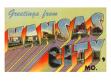 Greetings from Kansas City  Missouri