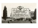 Billboard  USMC Quantico  Virginia