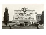 Billboard  USMC Quantico  Virginia