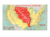 Louisiana Purchase  St Louis  Missouri