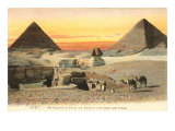 Pyramids and Sphinx  Egypt