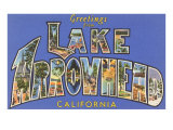 Greetings from Lake Arrowhead  California