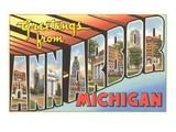 Greetings from Ann Arbor  Michigan