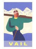 Skiing  Vail  Colorado