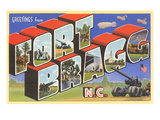 Greetings from Ft Bragg  North Carolina