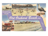 Greetings from Old Orchard Beach  Maine