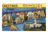 Greetings from Berkeley  California