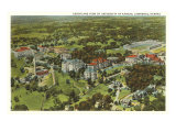 Aerial View  University of Kansas  Lawrence  Kansas