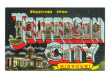 Greetings from Jefferson City  Missouri