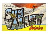 Greetings from Sun Valley  Idaho