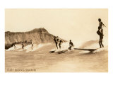Surf Riding  Hawaii  Photo