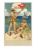 US Marines  Signal Flag