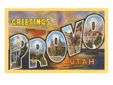 Greetings from Provo  Texas