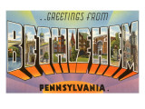 Greetings from Bethlehem  Pennsylvania