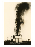 Oil Well Gusher  Odessa  Texas