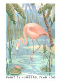 Paint by Numbers  Flamingo