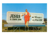 Jesus is Coming  Retro