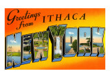 Greetings from Ithaca  New York