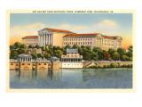Art Gallery  Schuykill River  Philadelphia  Pennsylvania