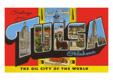 Greetings from Tulsa  Oklahoma
