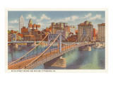 Sixth Street Bridge  Pittsburgh  Pennsylvania