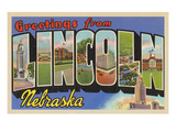 Greetings from Lincoln  Nebraska