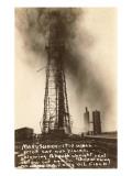 Spurting Oil Well  Oklahoma