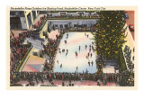 Skating Rink  Rockefeller Center  New York City