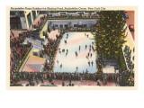 Skating Rink  Rockefeller Center  New York City