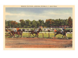 Horse Race  Saratoga Springs  New York