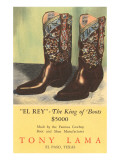 El Rey Tony Loma Cowboy Boots