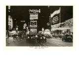 Night View of Broadway  New York City  Photo
