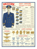Naval Insignia Chart
