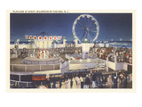 Night  Amusement Park  Wildwood-by-the-Sea  New Jersey