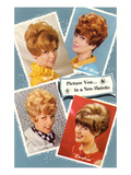 Multiple 60s Hairstyles