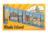 Providence  Rhode Island  Large Letters
