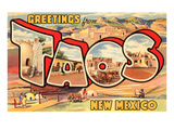 Greetings from Taos  New Mexico