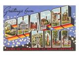 Greetings from Chapel Hill  North Carolina
