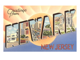 Greetings from Newark  New Jersey
